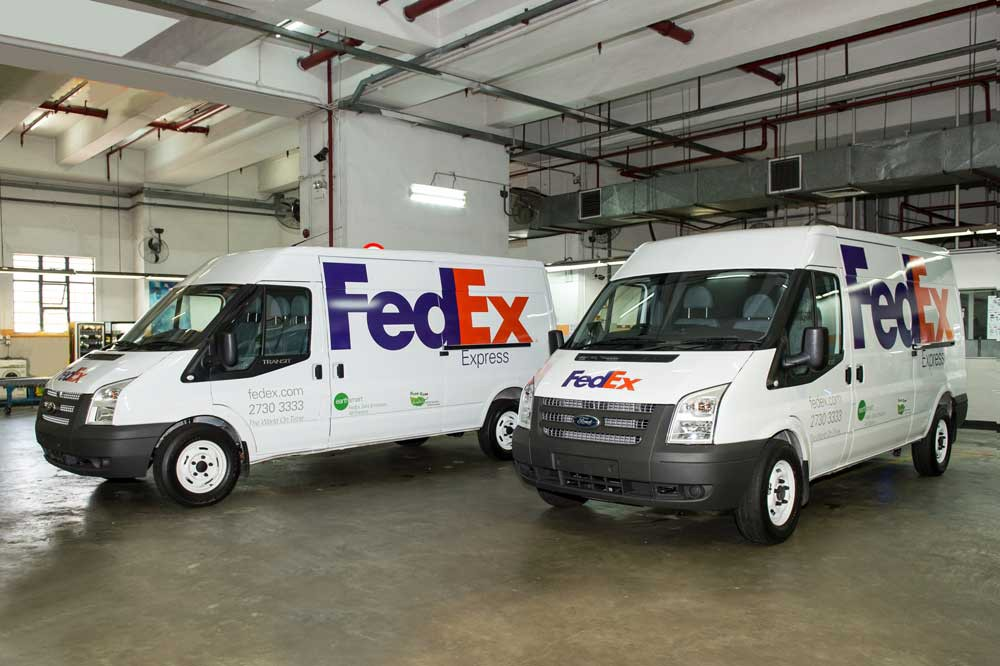 FedEx does electric vehicle charging for delivery fleet vehicles