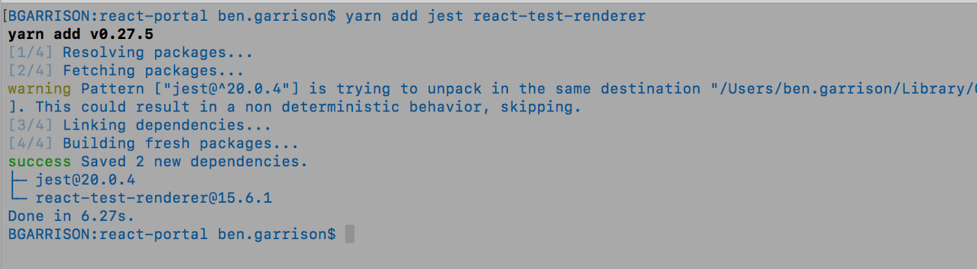 Component snapshot testing with Jest - codeburst