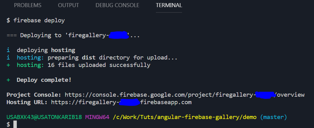 Angular 6 FireBase Gallery <ServerLess> - codeburst
