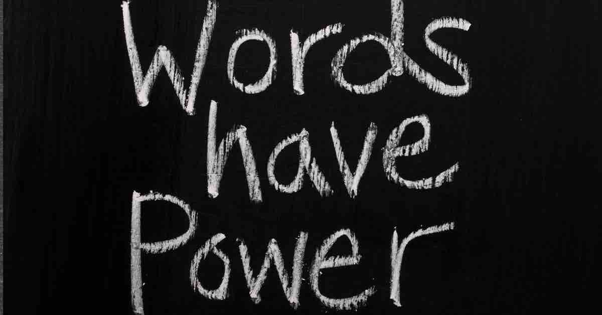 writing: words have power