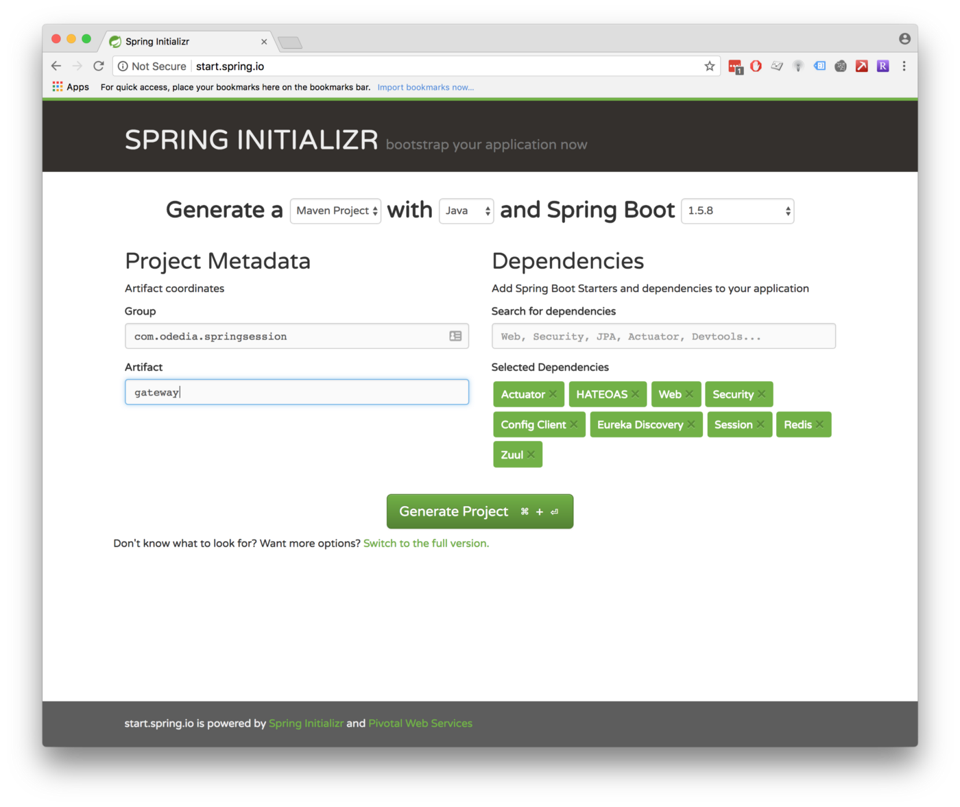 Introduction to Spring Session Redis in Cloud-Native Environments