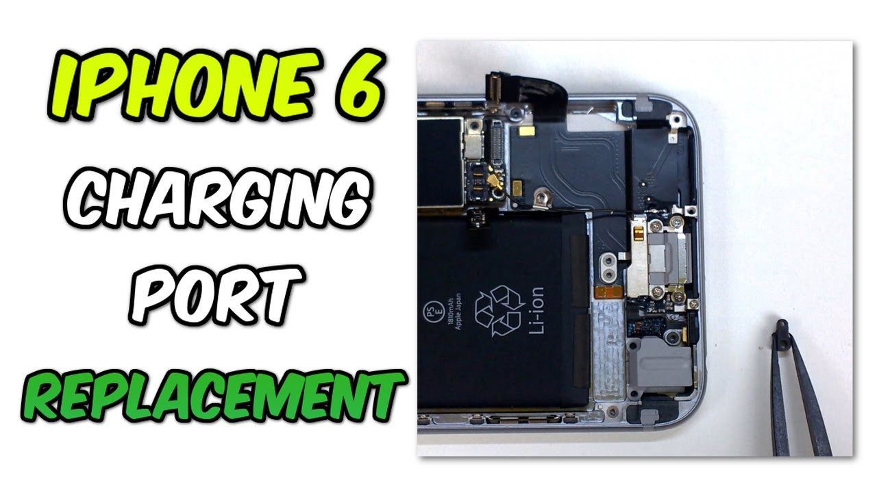 release date b63eb f5f87 How To Fix a Broken Charging Port of an iPhone 6 | Oxford Laptops ...