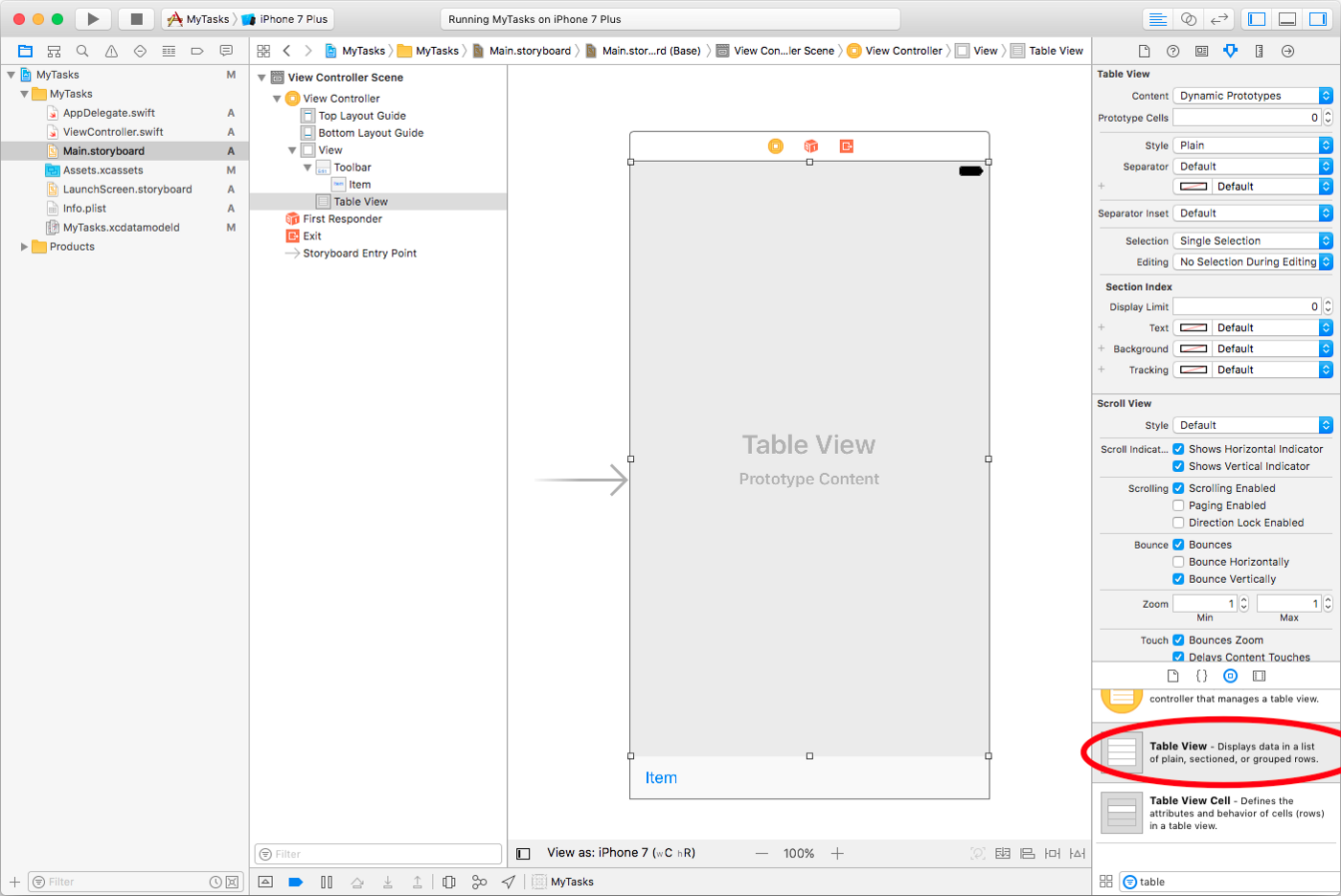 Core Data on iOS 10, a brief overview with an Example