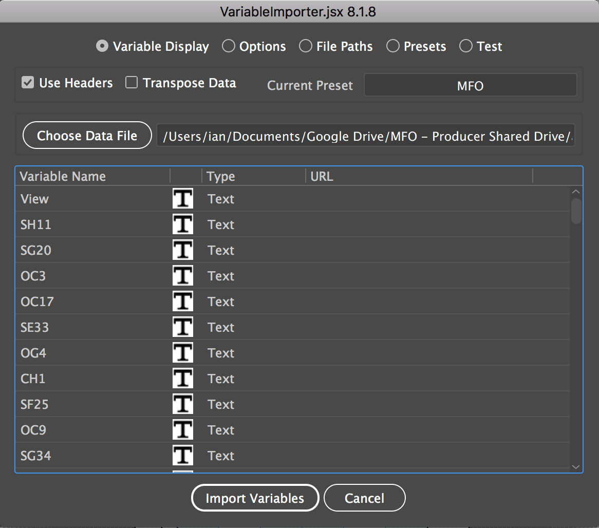 Creating Event Space Plans with Adobe Illustrator and the Variable