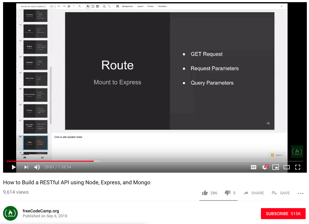 Using Puppeteer + Node js to scrape text from YouTube videos