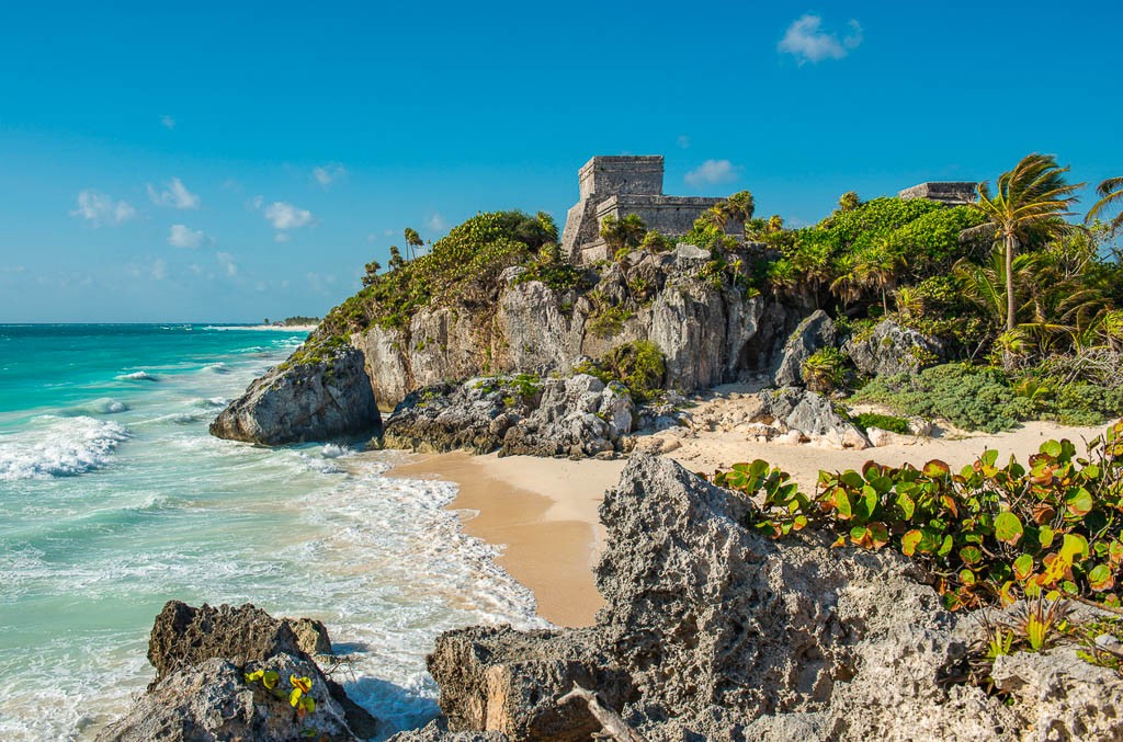 Mayan ruins at Tulum in Mexico