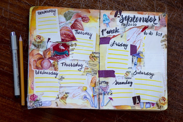 My Week. A week in the life of…….. A poem by Colleen Millsteed.