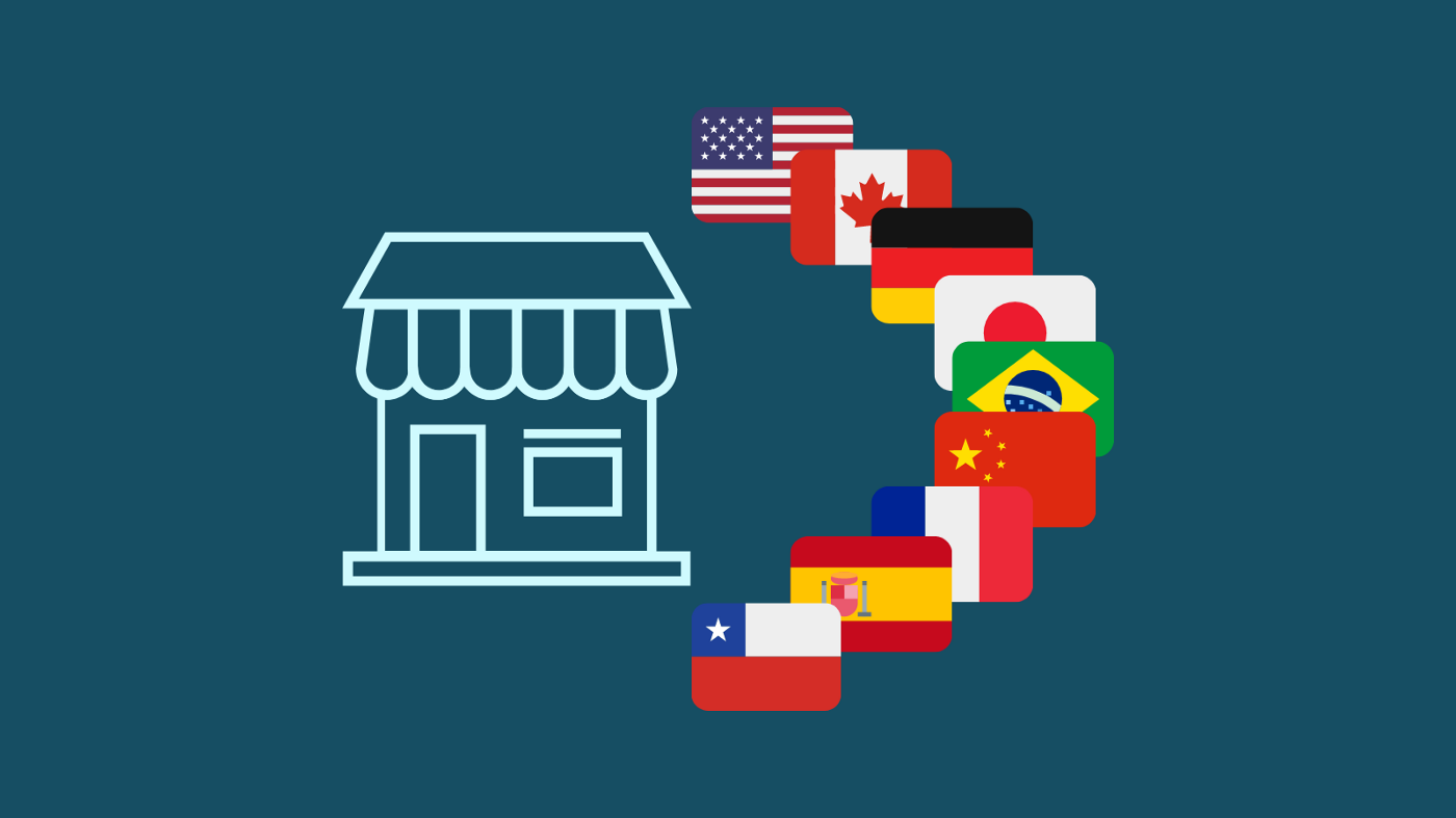Sell in multiple languages
