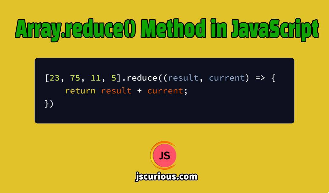array.reduce() in javascript by jscurious.com