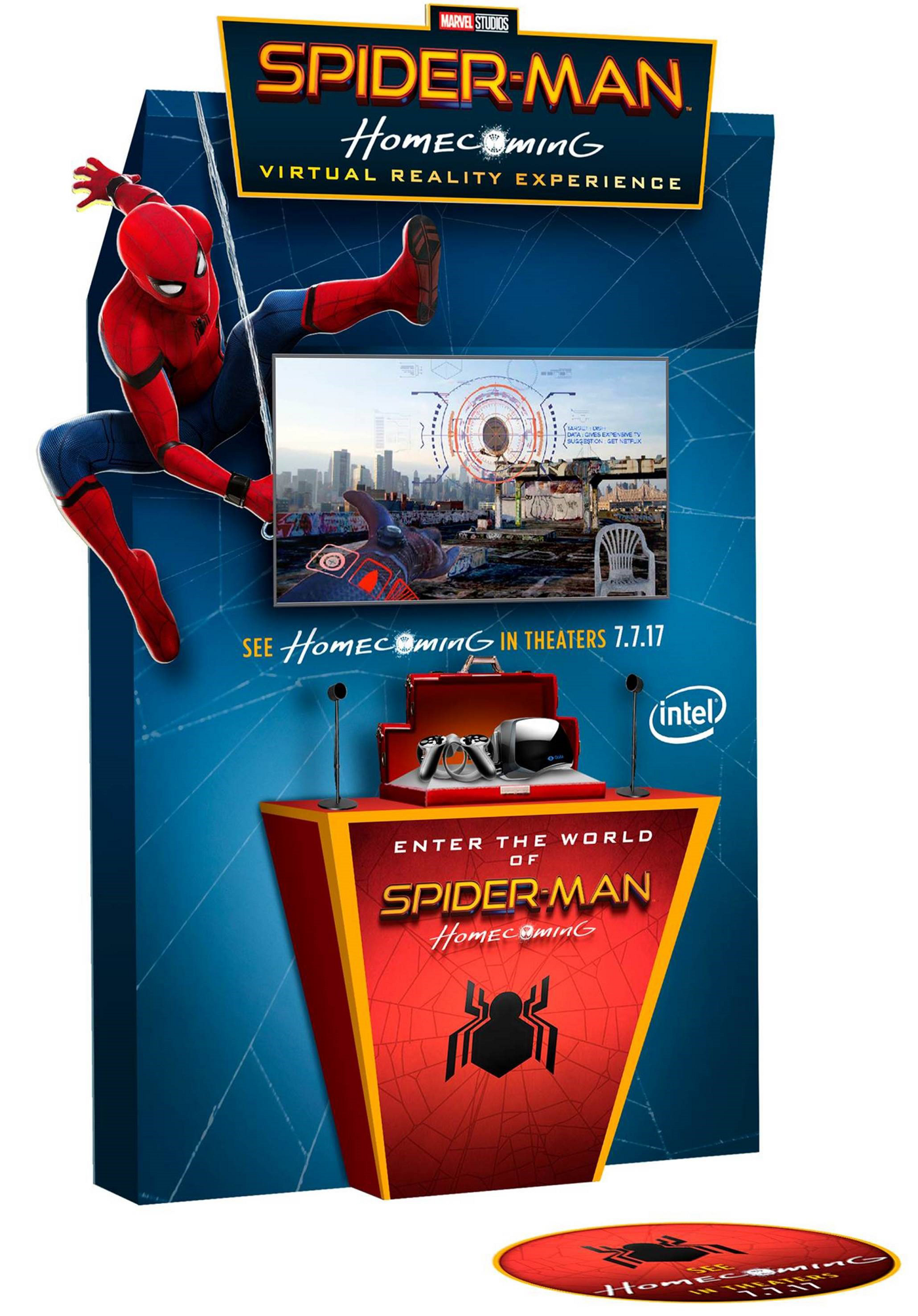 "Sony and Intel team up for the ""Spider-Man: Homecoming"" VR experience"