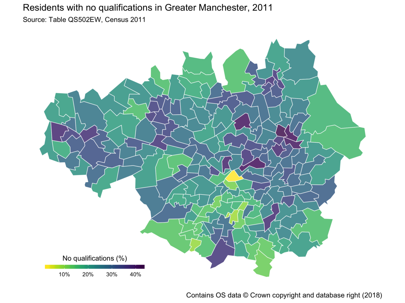 Let's Make a Map in R* - Trafford Data Lab - Medium