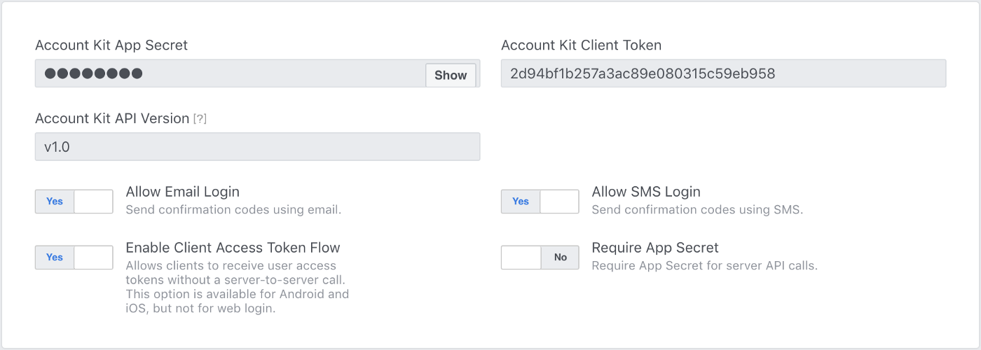 Phone number & E-mail verification in Android using Facebook Account Kit