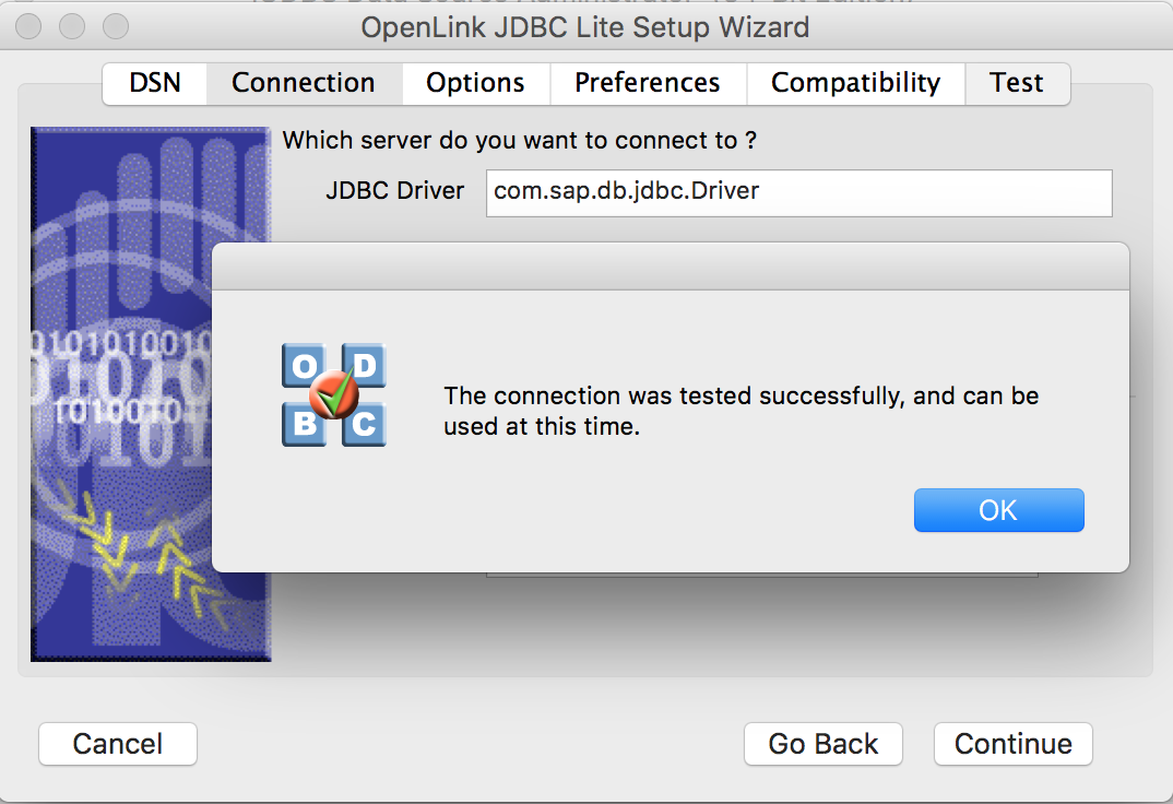 Connect to SAP HANA from Excel for macOS - OpenLink ODBC, JDBC, ADO