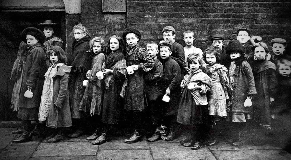 Children of Victorian England in Baby Farms.