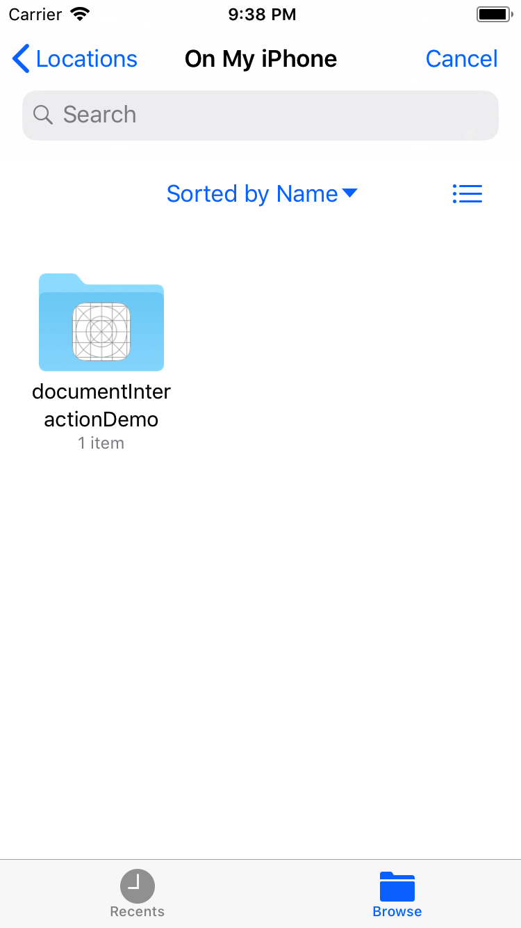 Managing Files in iOS - Noteworthy - The Journal Blog