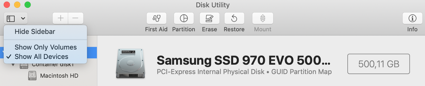 How to replace MacBook SSD with Samsung 970 EVO M 2 NVMe on macOS Mojave