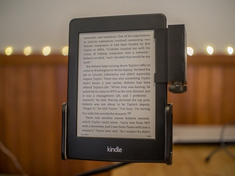 Remote-Controlled Kindle Page Turner - Hackster Blog