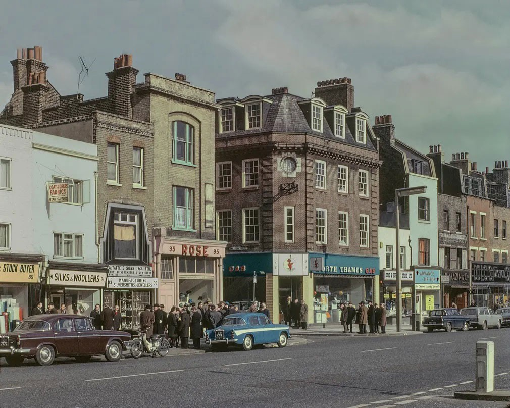 Whitechapel Road, 1965: All photos by David Granick/courtesy Tower Hamlets Local History & Archives Photograph: David Granick