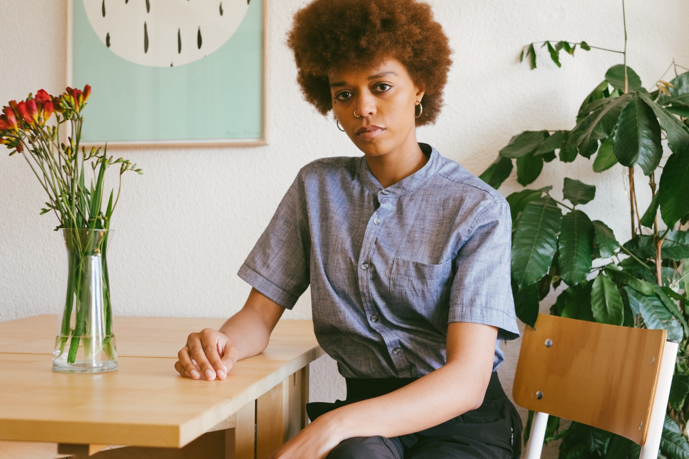 Black natural hair in the workplace is professional