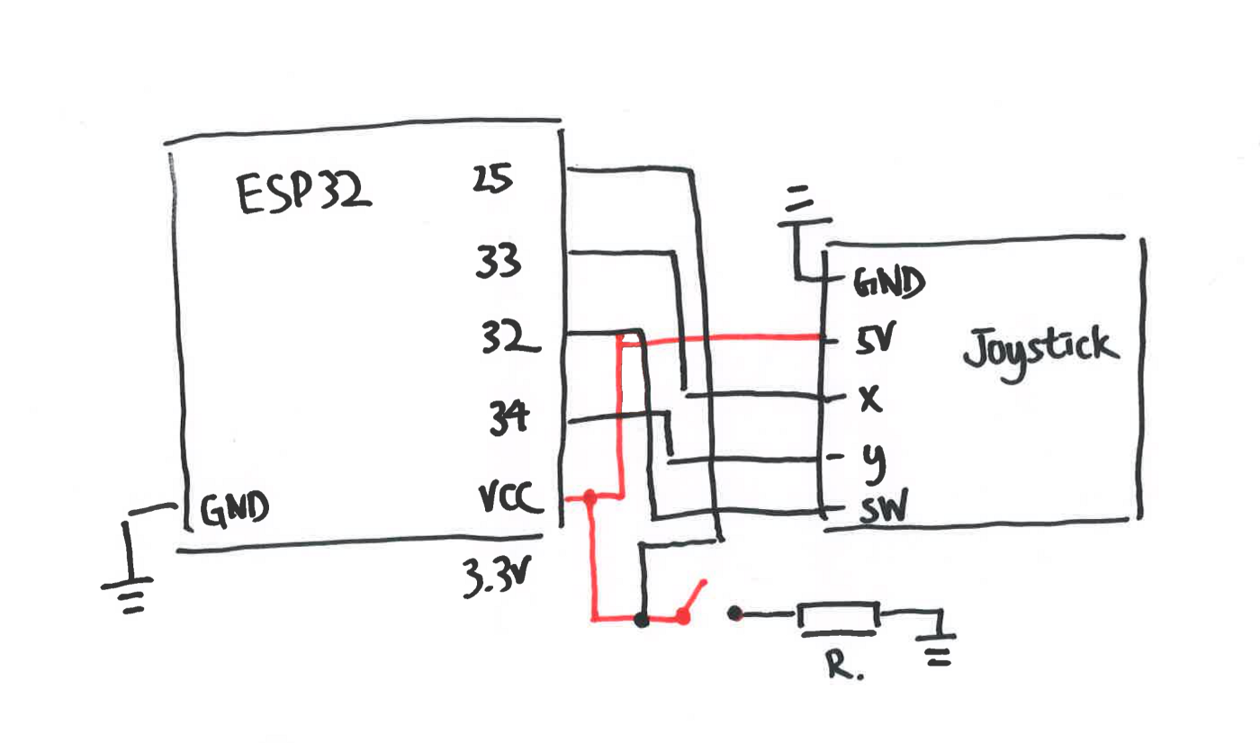 wiring on breadboard according to the schematic