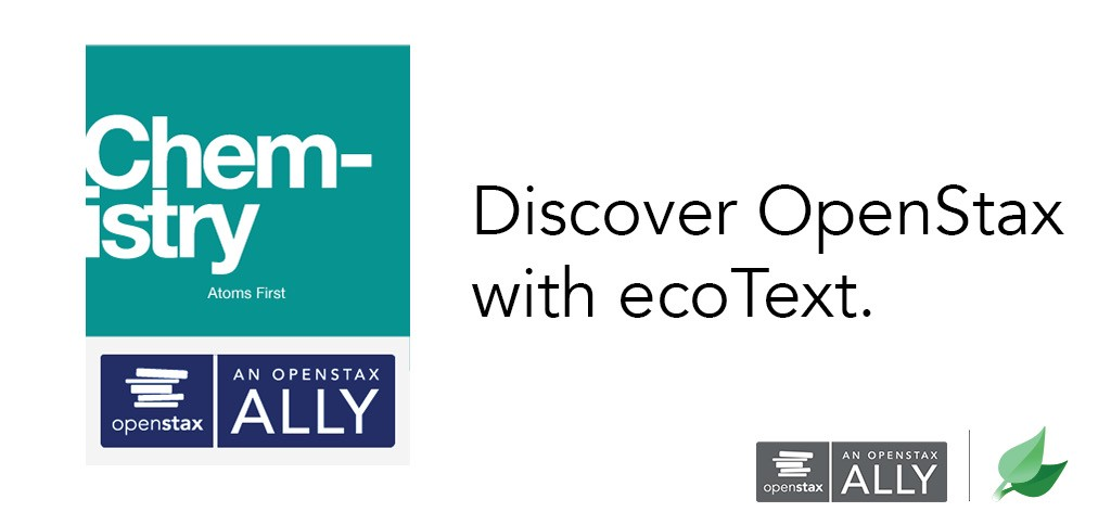 Discover OpenStax with ecoText