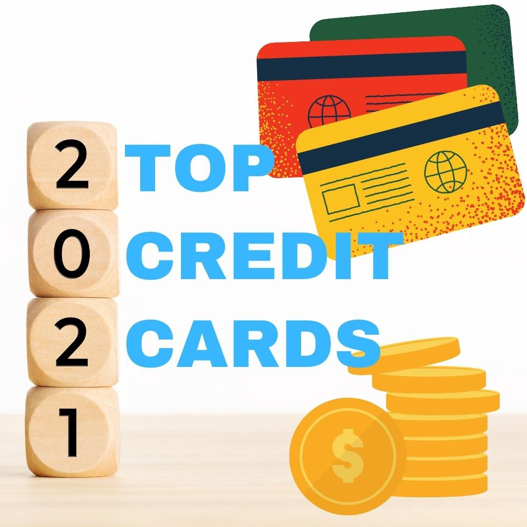 The cover photo of Millennial Investments Top Credit Cards 2021 article.
