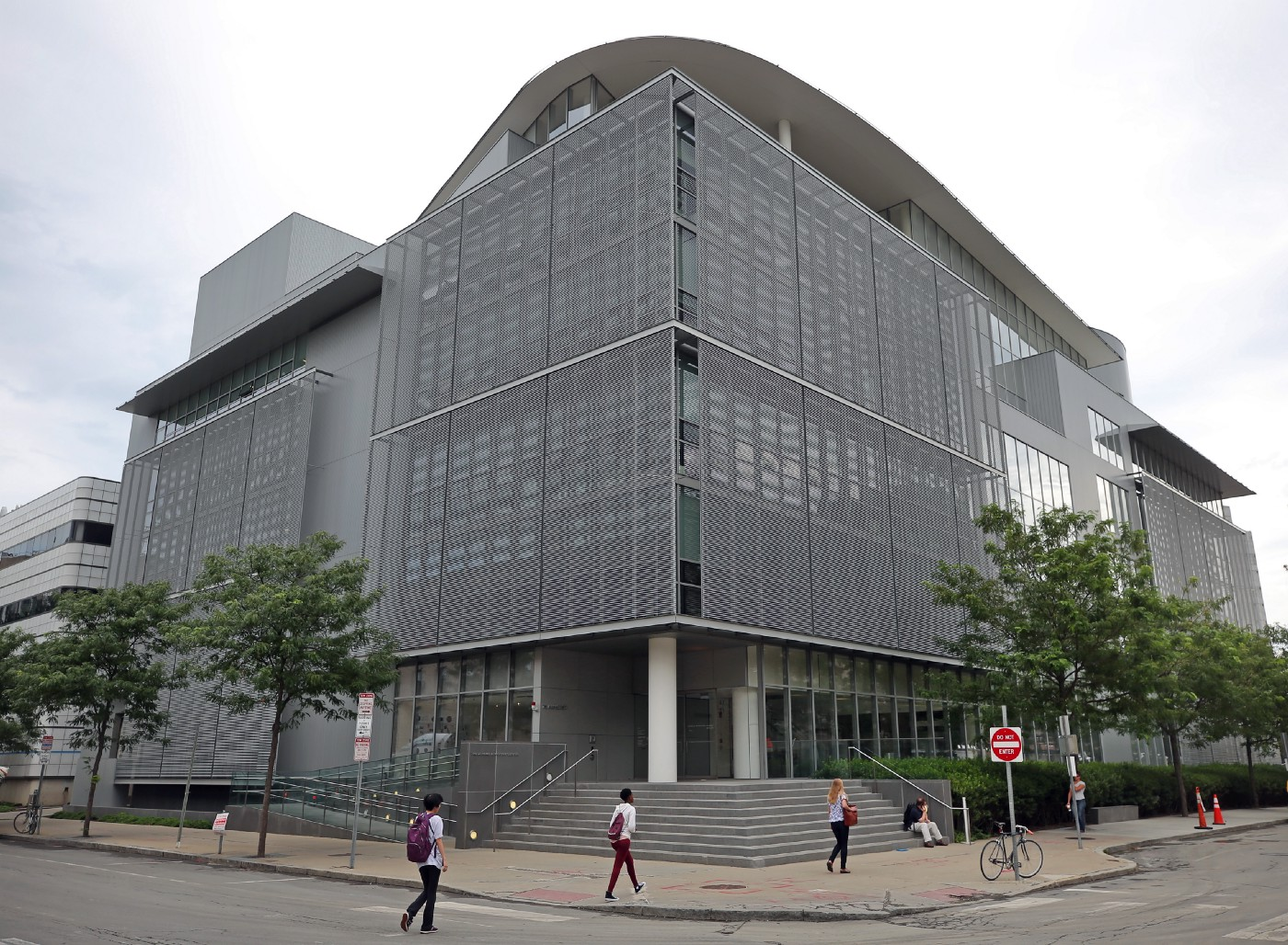 The exterior of the MIT media lab at 75 Amherst Street in Cambridge, MA is pictured on Aug. 23, 2019.