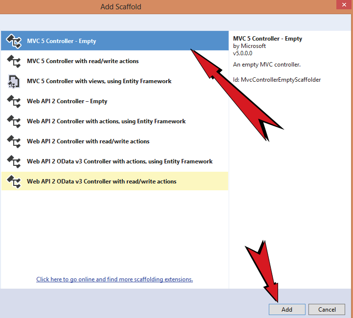 Tutorial — Implementing jQuery AJAX with Entity Framework in ASP NET MVC