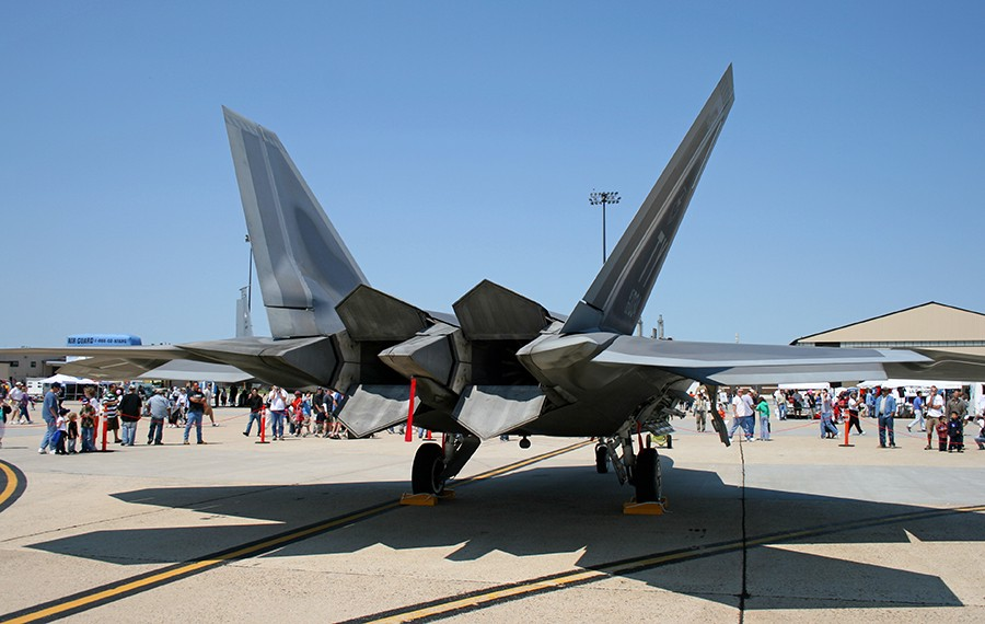 U.S. Air Force F-22 Raptor, with 2D Thrust Vectoring Nozzles