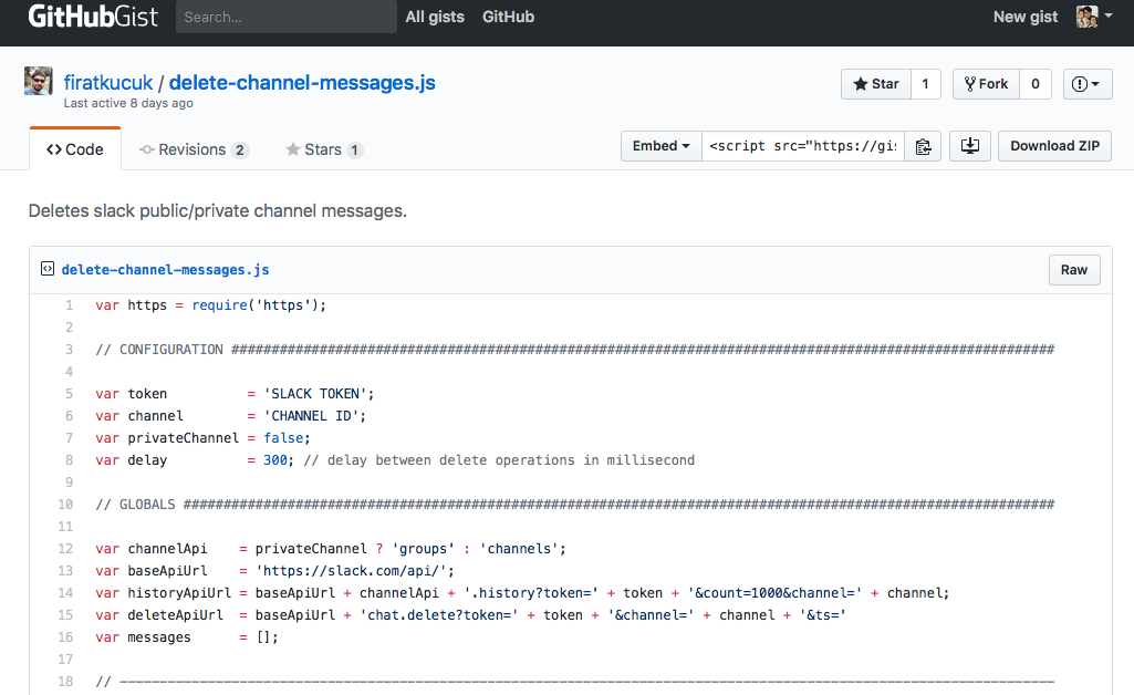 Cleaning all messages on slack channel - Jerry Han - Medium