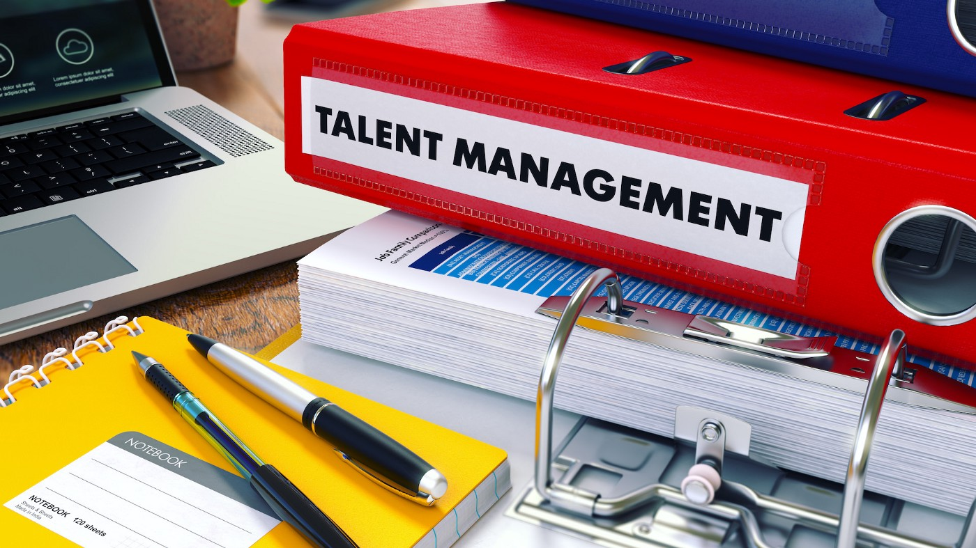 The Components of Talent Management—abstract illustration