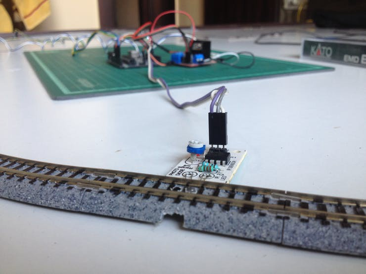 Automatic Model Train Control with Arduino - Hackster Blog
