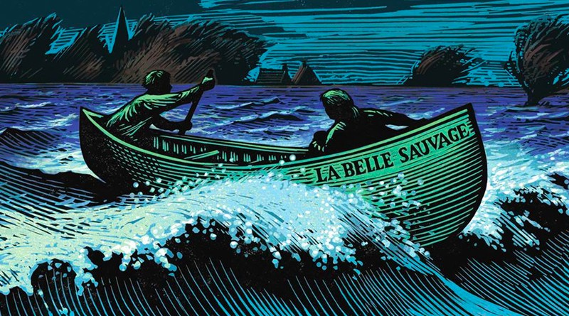 Illustration from 'Le Belle Sauvage'
