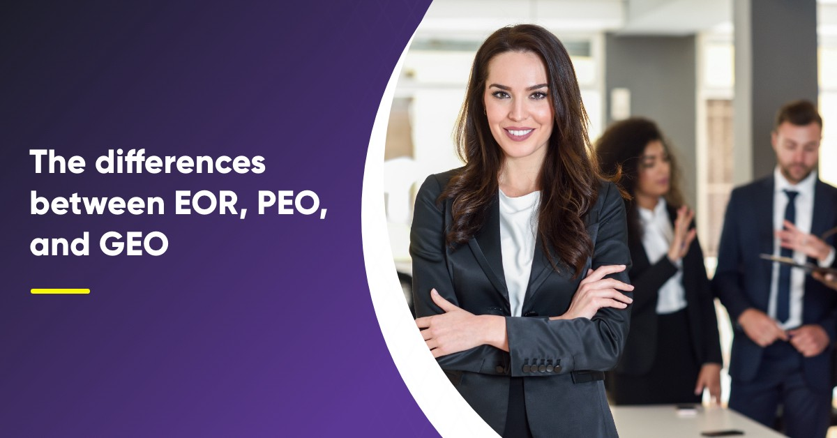 The differences between EOR, PEO, and GEO