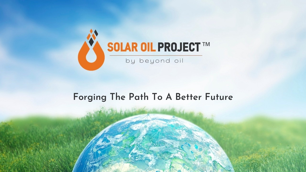 beyond_oil_launches_world_s_first_smart_contract_driven_eco_friendly_oil_production_solar_oil_project