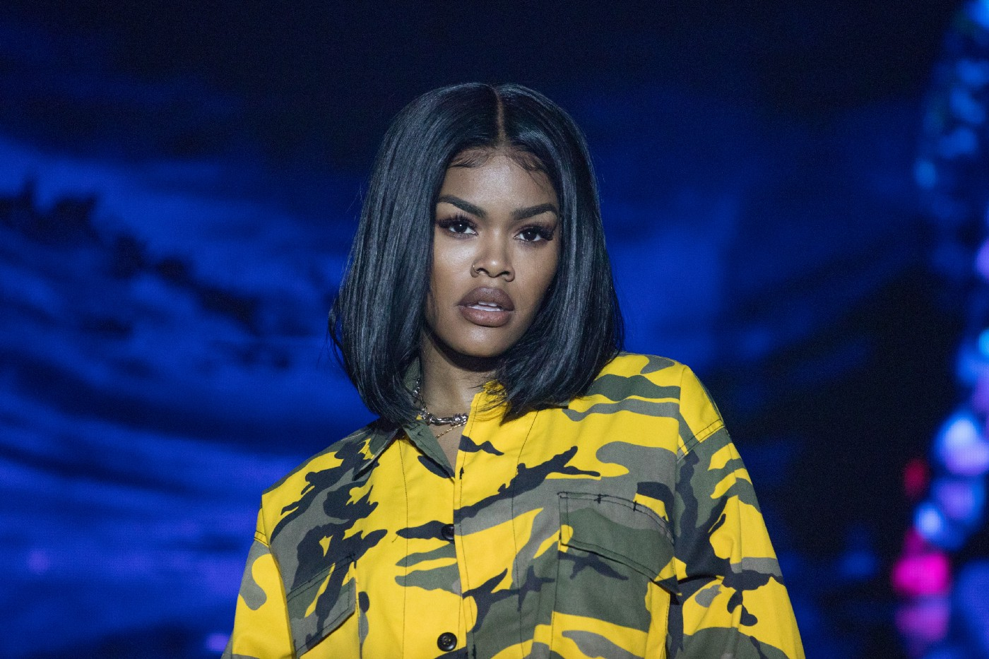Teyana Taylor at the 'Keep the Promise' 2019 World AIDS Day Concert presented by the AIDS Healthcare Foundation.