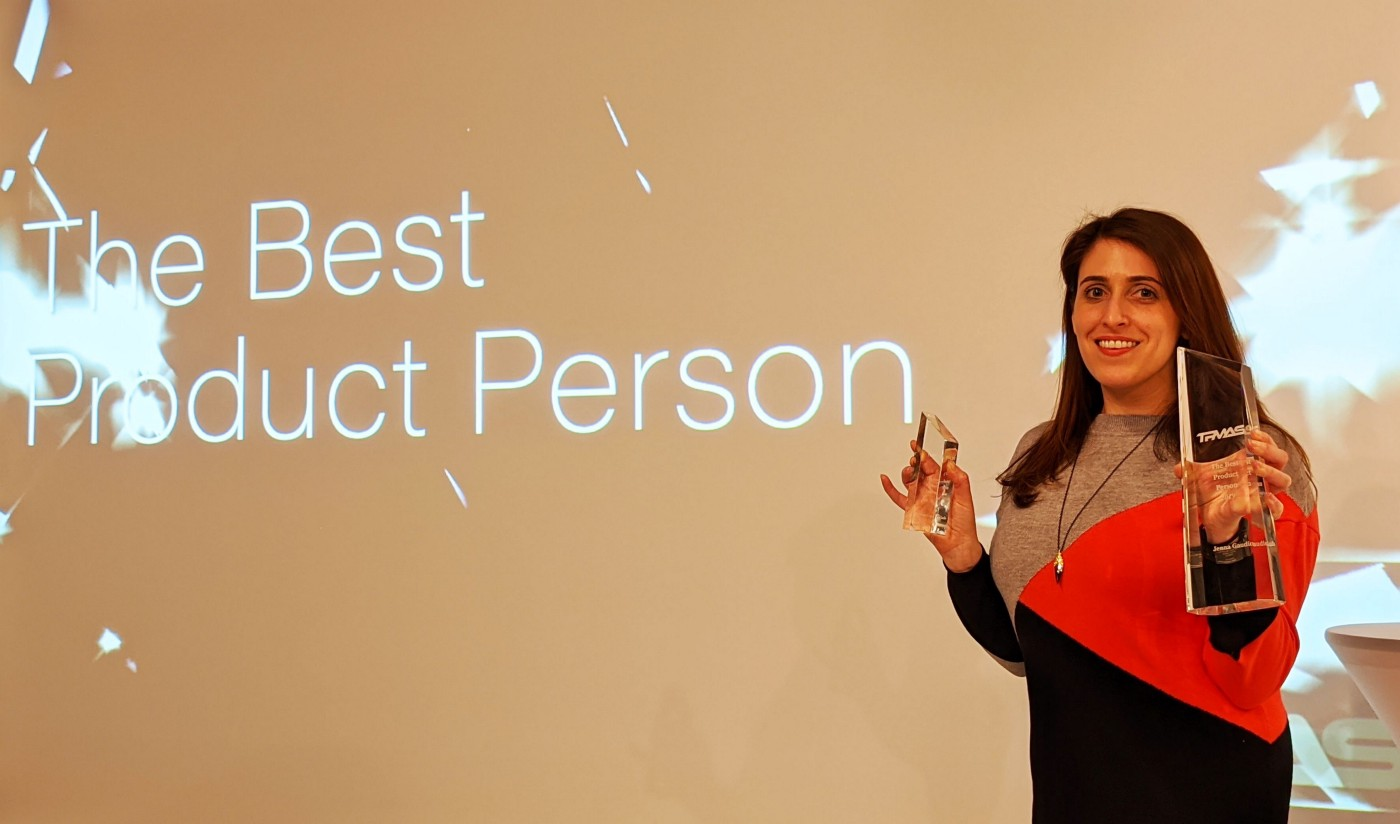 The Best Product Person Award 2019