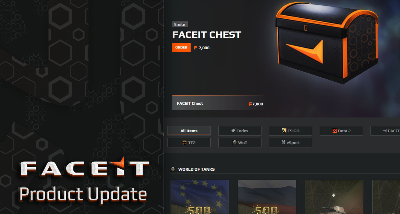 1v1 Aim Maps & New Shop - FACEIT