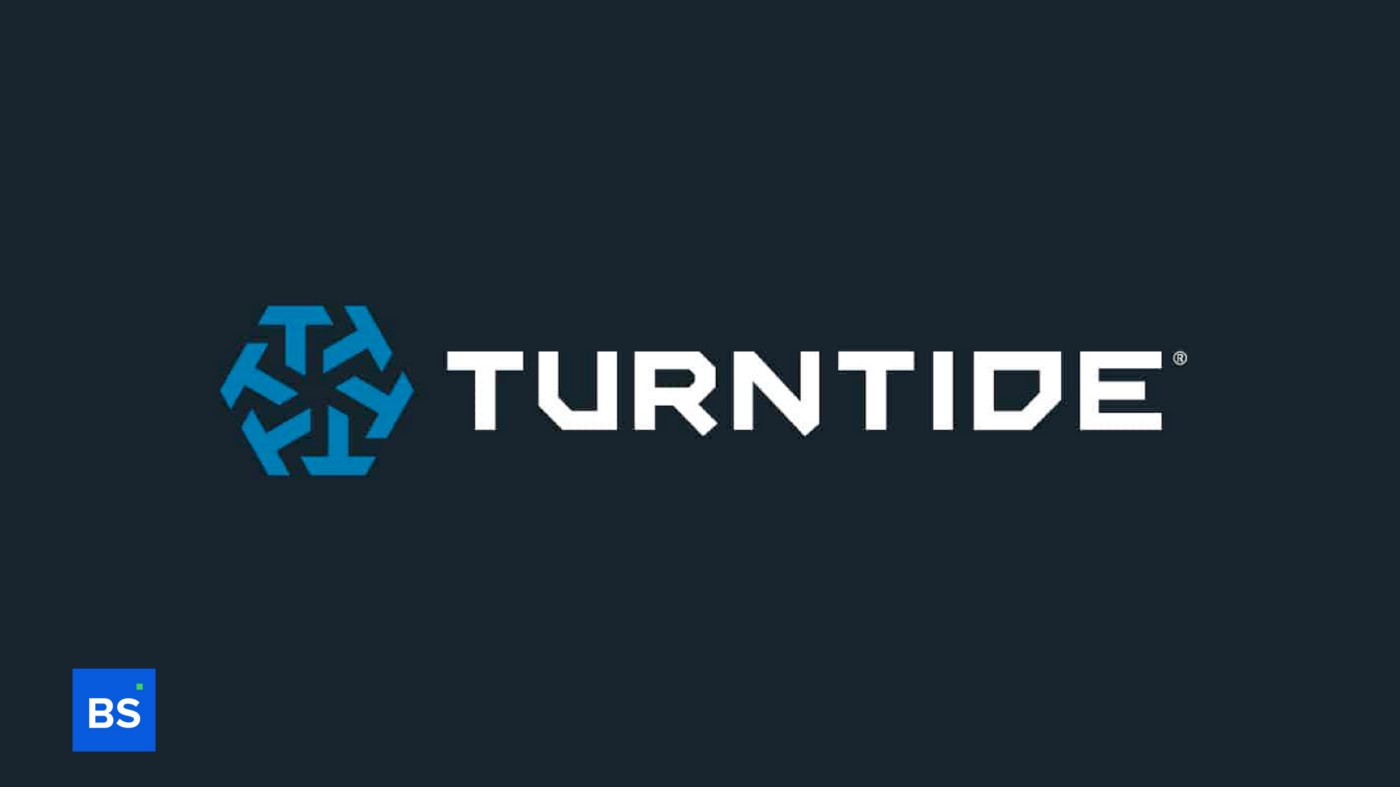 A photo of Turntide's logo