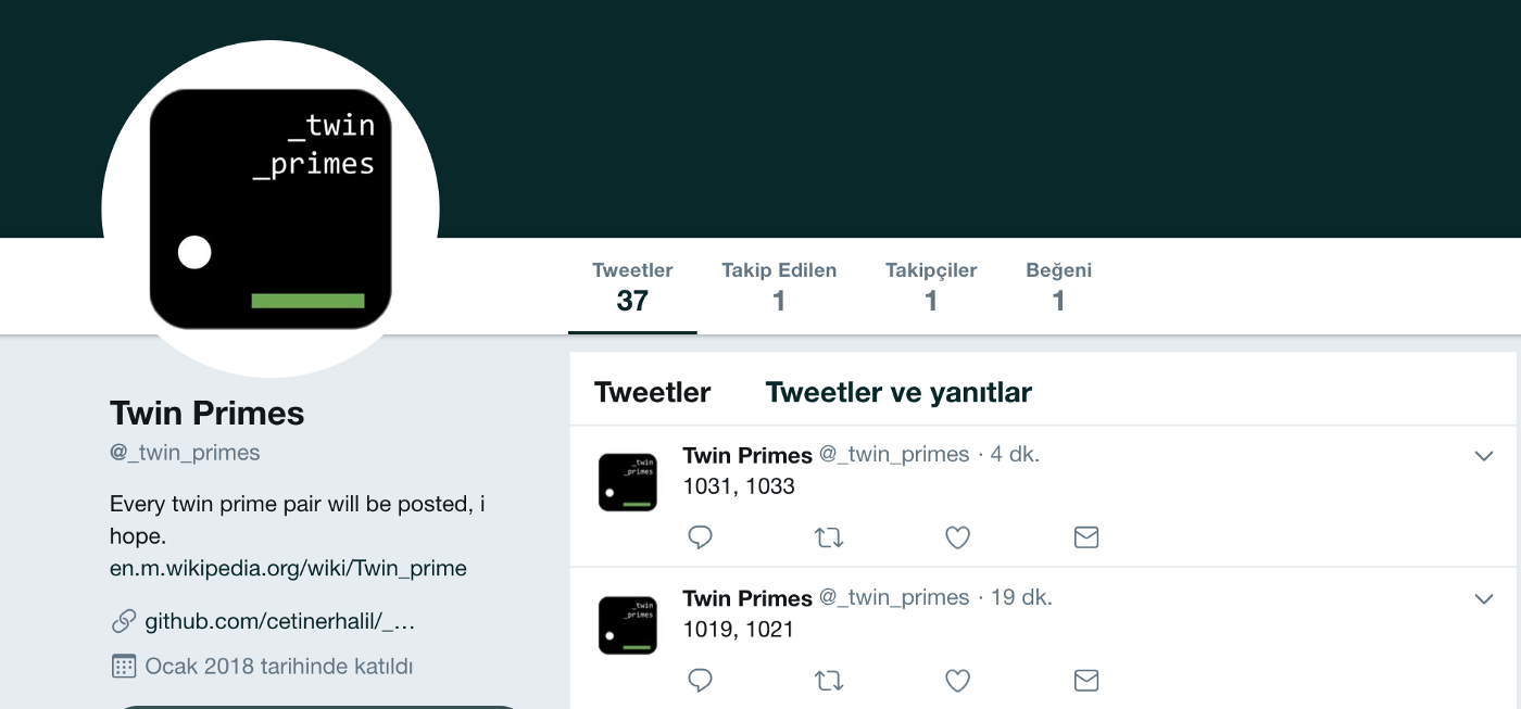 How to create a Twitter Bot with Python3 and Tweepy