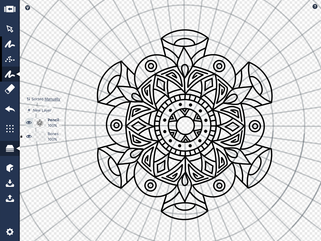 How To Draw A Mandala In Concepts Concepts App Medium