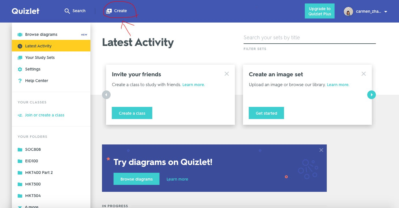 Learn On-The-Go with Quizlet - Carmen Zhang - Medium