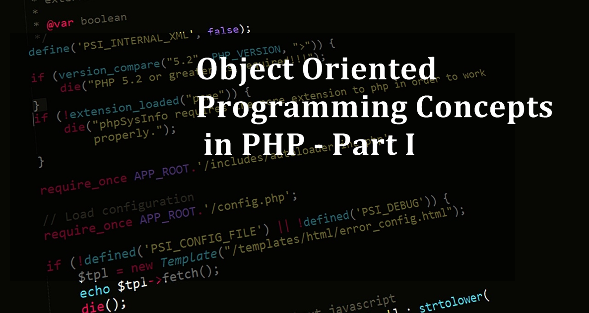 Php Oops Object Oriented Programming Concepts In Php By Mahesh Sharma Medium