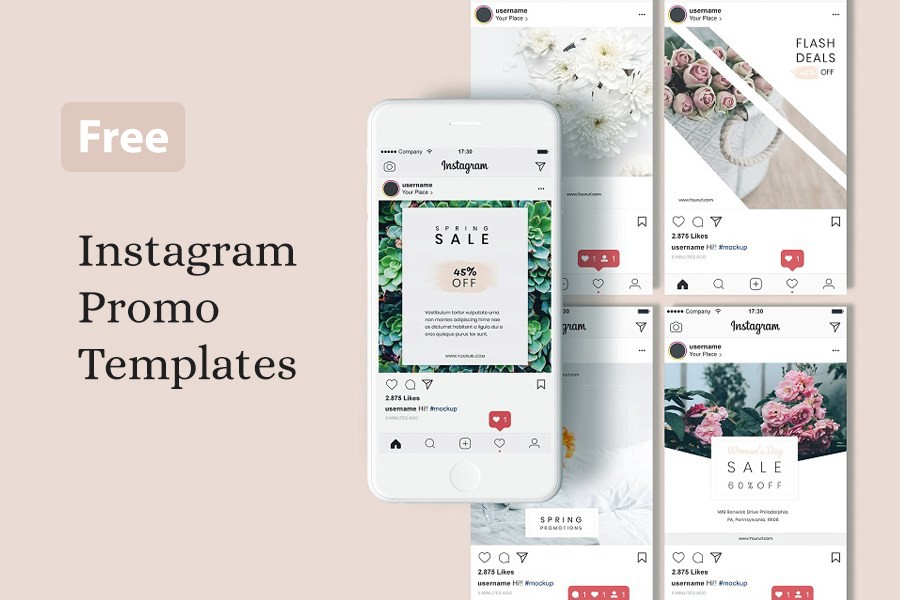 35+ Free Social Media Templates for Brands & Bloggers