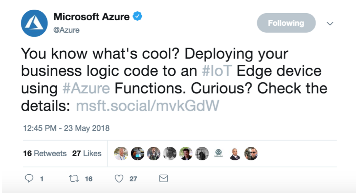 Azure Functions wants to make it easy for developers to get started