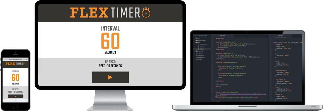 Building an interval timer for Flex Fitness - Clayton
