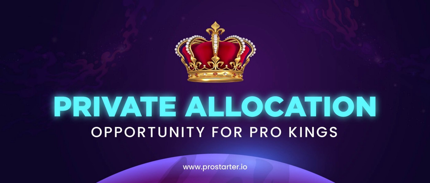 PRIVATE ALLOCATION OPPORTUNITY FOR PRO KINGS 👑