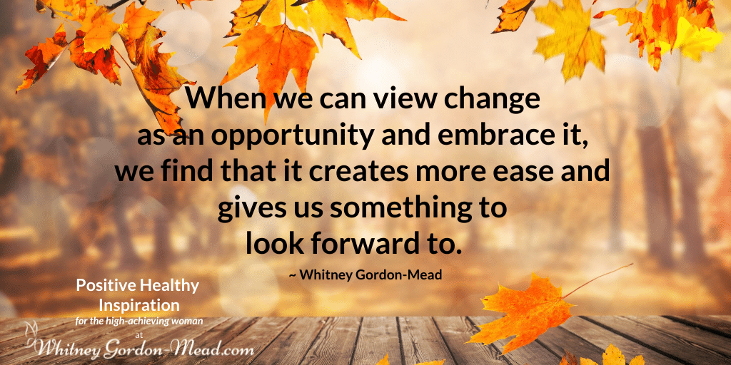 Whitney Gordon-Mead quote about change