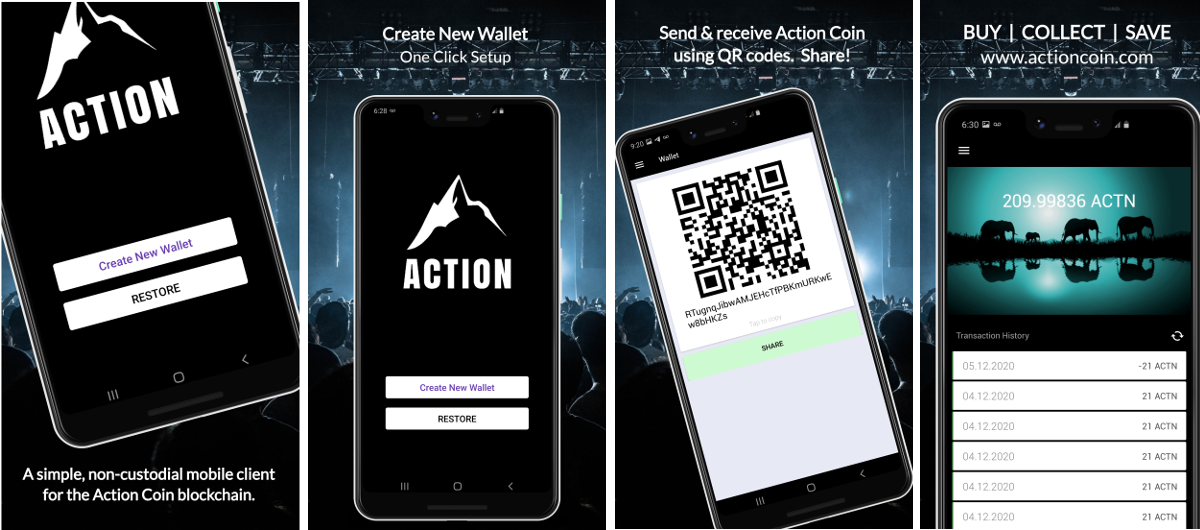 Action Coin for Android