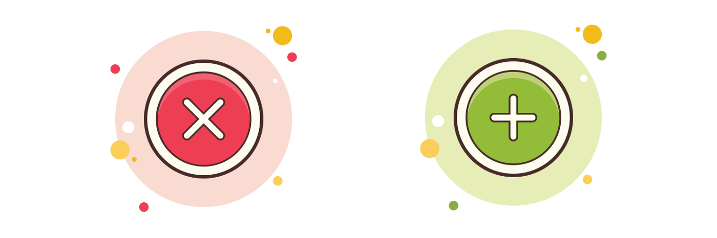 Using Red and Green in UI Design - UX Planet